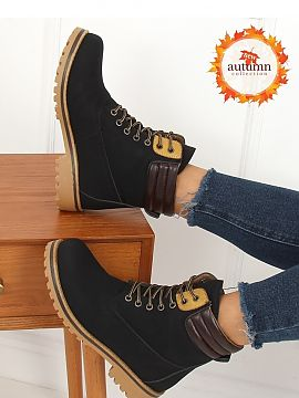 Zware bottines   Inello